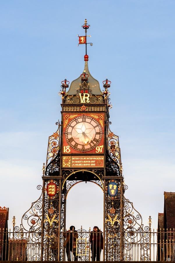 ?stlig port Chester UK arkivfoton