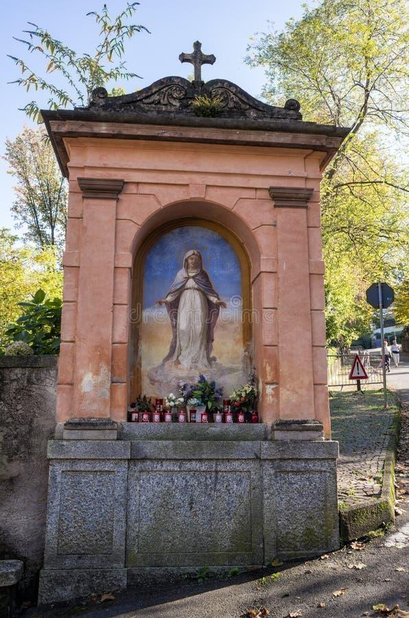 StMary-Kapelle in Stresa, Italien lizenzfreie stockbilder