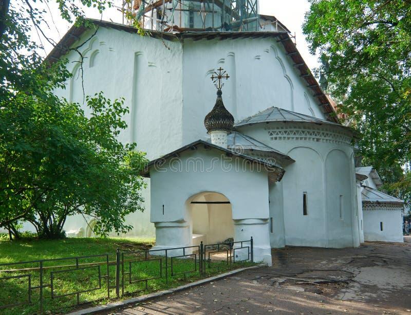 StNicholas普斯克夫教会  免版税库存图片