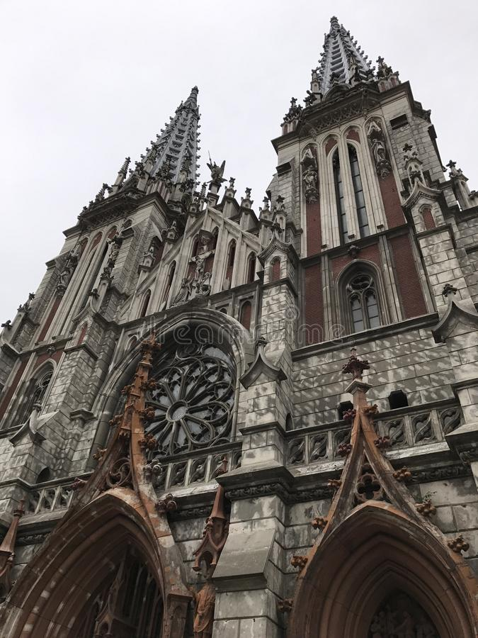 StNicolas Catedral стоковое фото rf