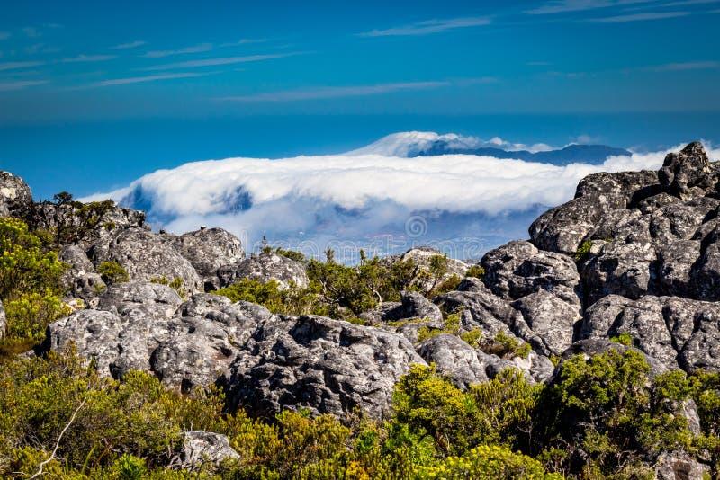 Stołowa góra w Kapsztad zdjęcie royalty free