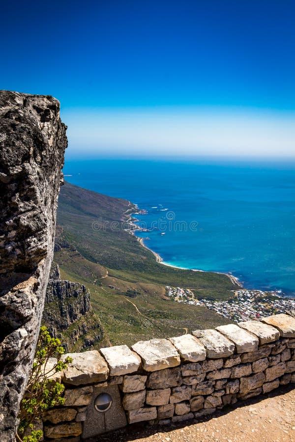 Stołowa góra w Kapsztad zdjęcia royalty free