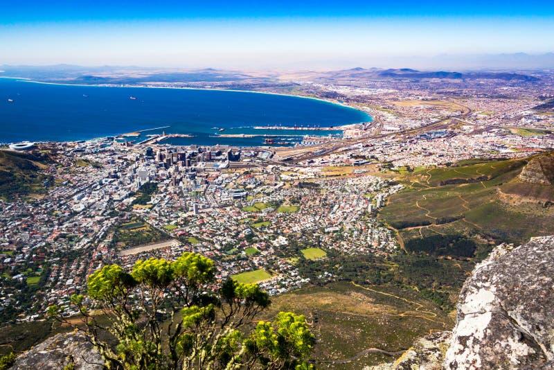Stołowa góra w Kapsztad obrazy royalty free