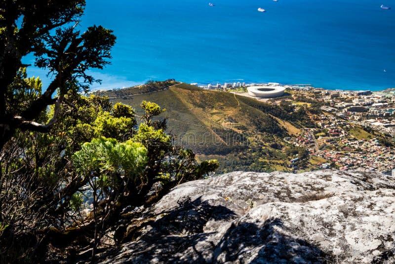 Stołowa góra w Kapsztad fotografia royalty free