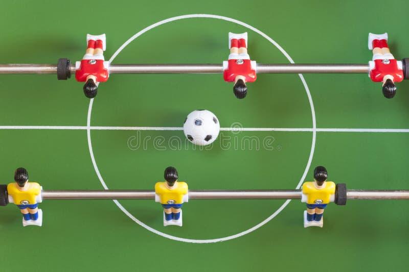 stołowa piłka nożna obrazy stock