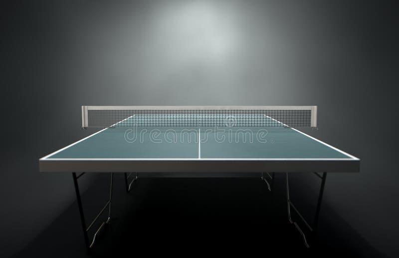 Stołowego tenisa stół ilustracji