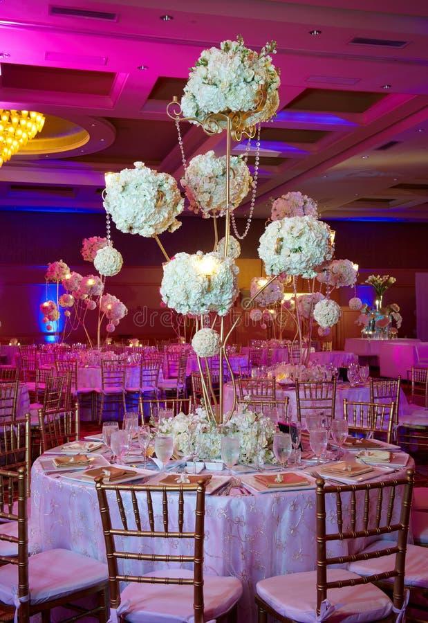 stołowy ślub zdjęcie stock