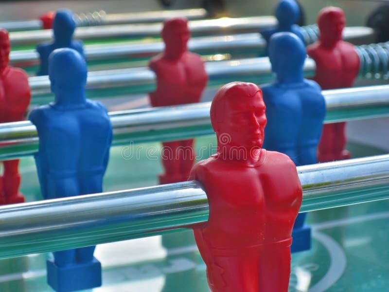 Stołowy futbolu stołu futbol fotografia royalty free