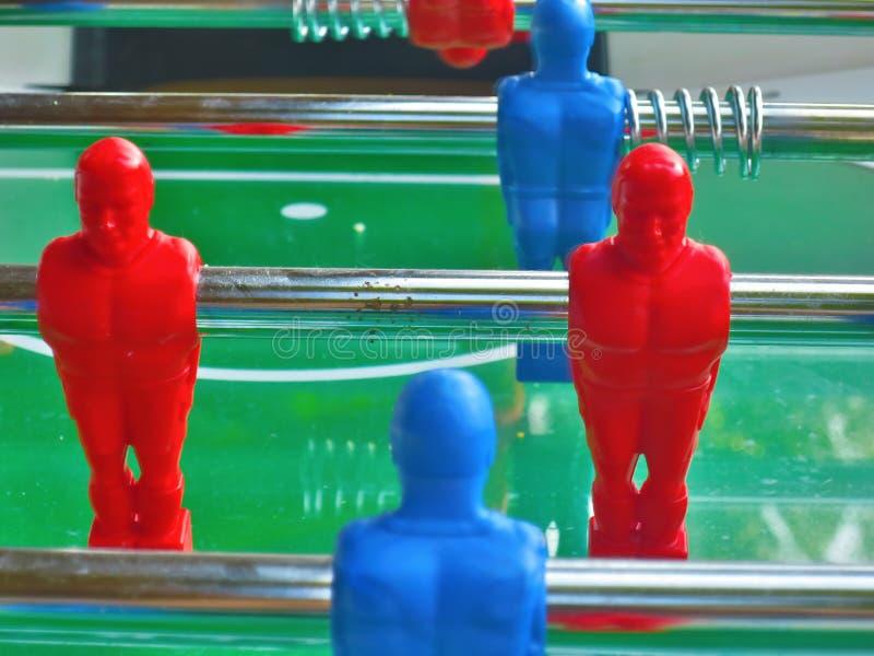 Stołowy futbolu stołu futbol zdjęcie stock