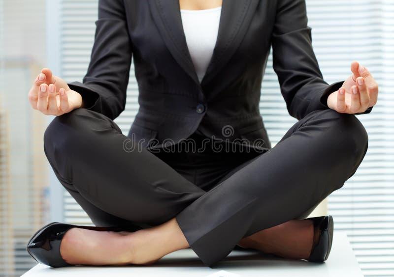 stołowy joga obrazy royalty free