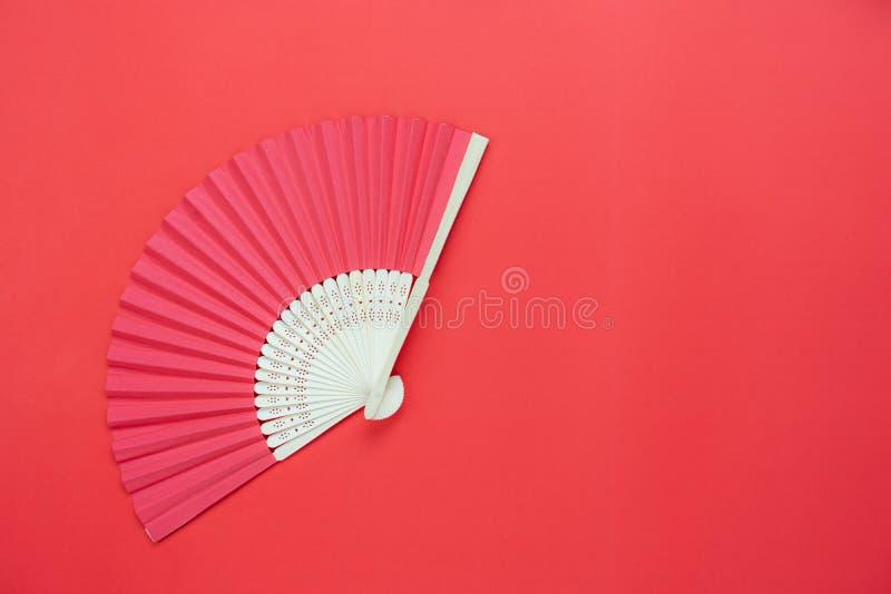 Stołowy odgórnego widoku powietrzny wizerunek dekoracja Chiński nowy rok lub księżycowy nowego roku tło fotografia stock