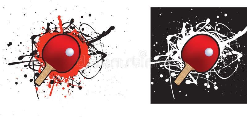 stołowy tenis ilustracji