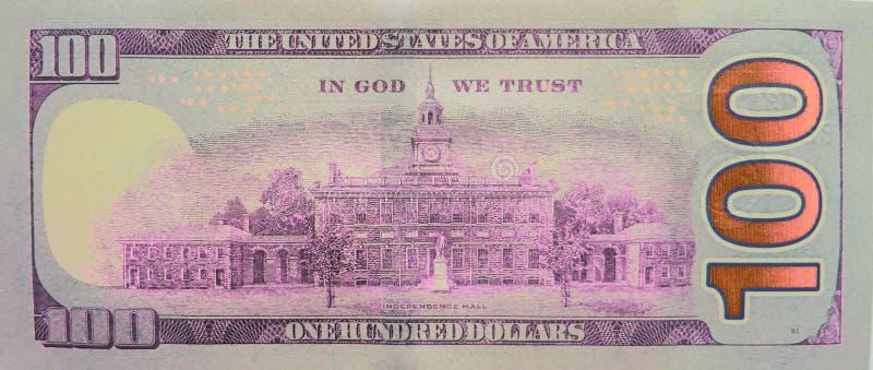 Sto dolarów - 100 Dolarowego Bill zapasu fotografii fotografia royalty free