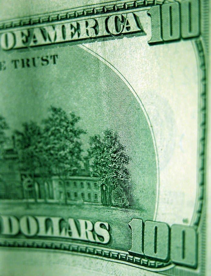 sto dolarów rachunków obraz stock