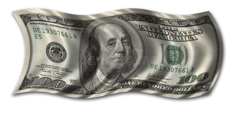 sto dolar rachunki obrazy royalty free
