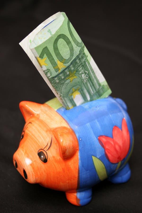 sto euro prosiątek obraz royalty free