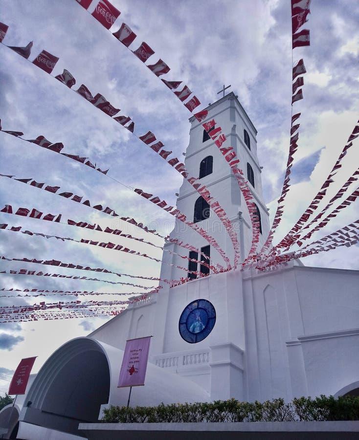 Sto Jour de fête de Niño de Tacloban image libre de droits
