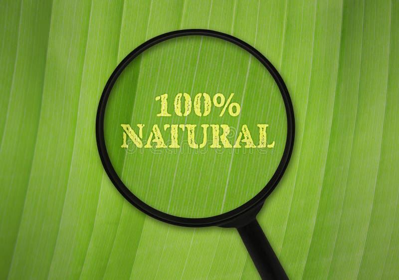 sto naturalnych procentów obrazy royalty free