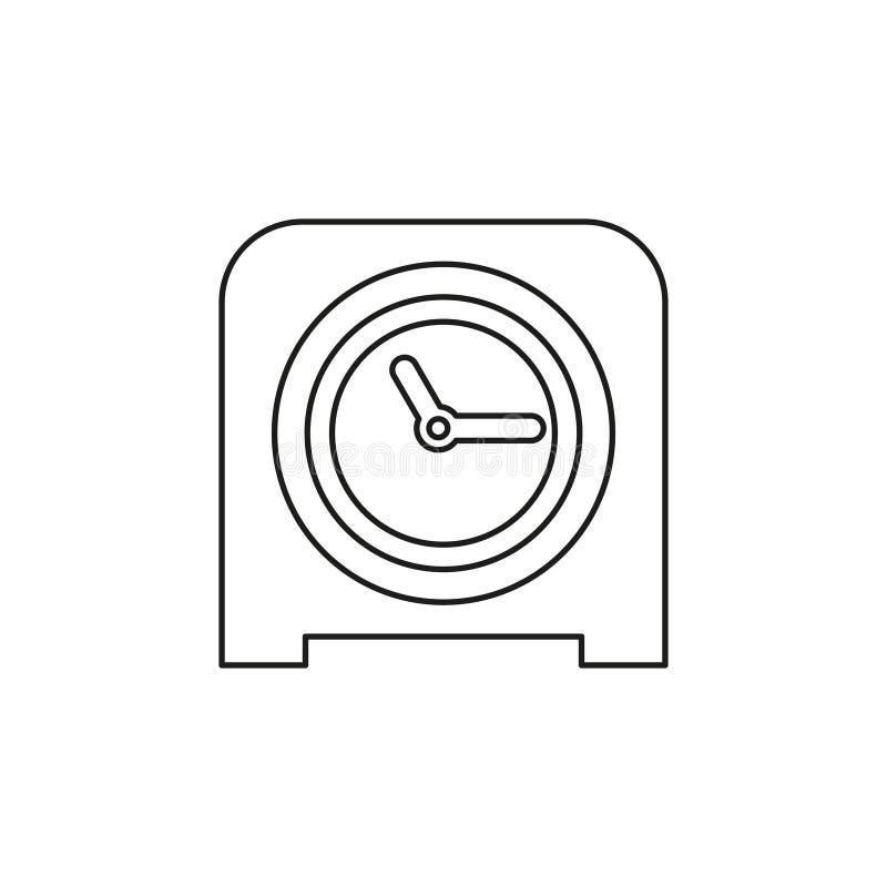 Sto?owego zegaru ikona, zegaru alarm royalty ilustracja