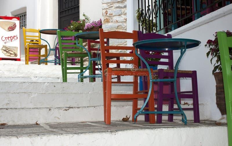 Sto?y i krzes?a obraz stock