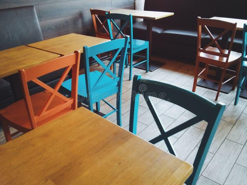 Sto?y i krzes?a obrazy stock