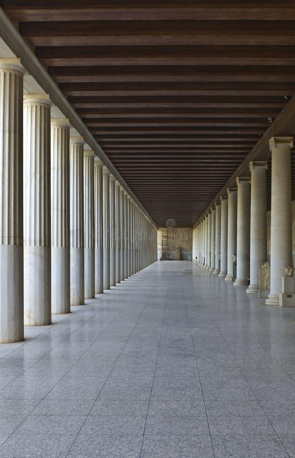 Stoa of Attalos at Athens, Greece