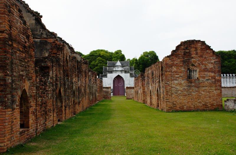 Stoccaggio reale dodici in Palace di re Narai immagine stock