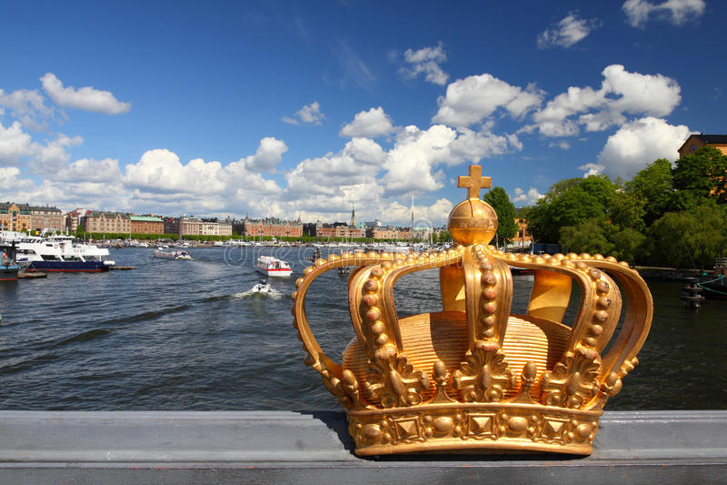 Stoccolma fotografia stock libera da diritti