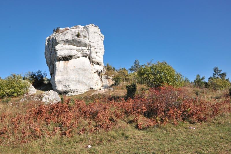 stochowska krakowsko του CZ Jura στοκ φωτογραφία με δικαίωμα ελεύθερης χρήσης