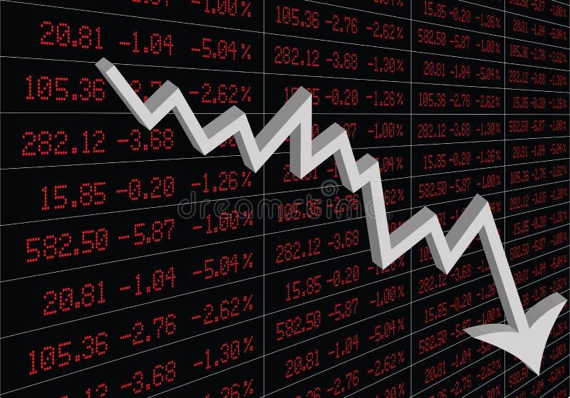 Stock Market Crash royalty free stock photo