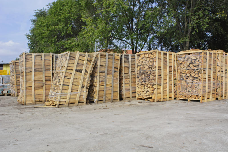 Stock boards firewood stock images