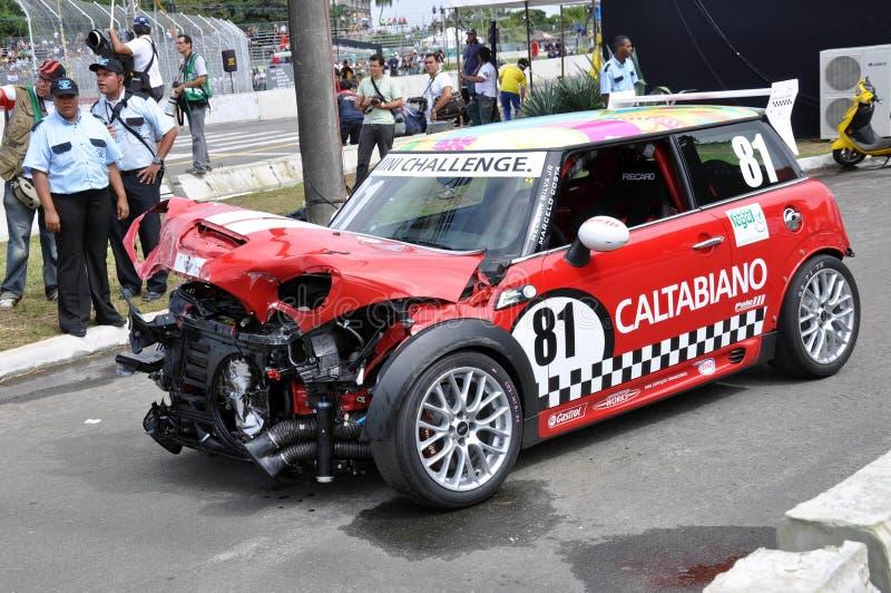 Stock Car Acident Editorial Photo