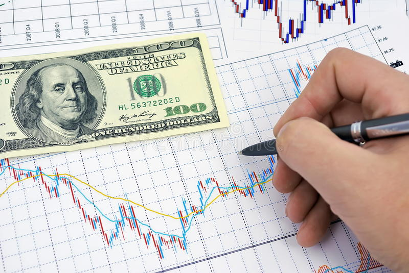 Download Stock chart stock photo. Image of money, currency, economic - 13963434