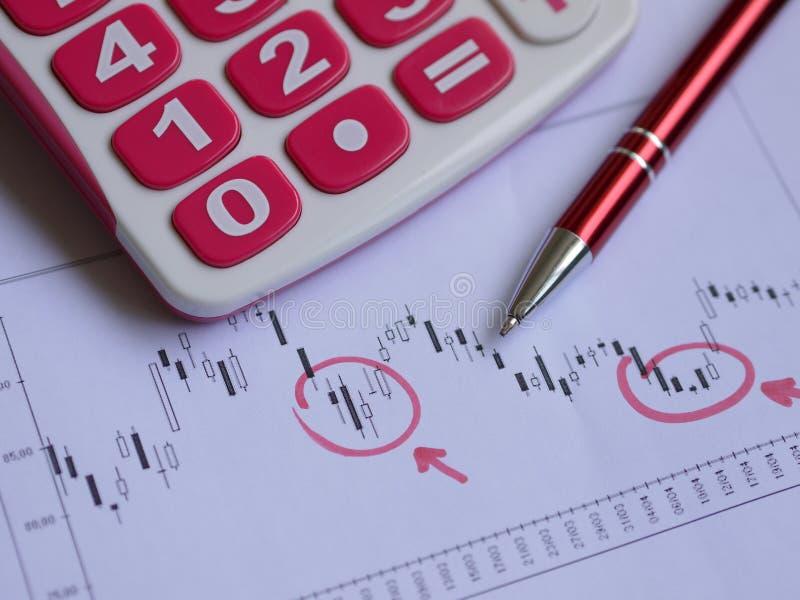 Download Stock chart stock photo. Image of bonds, calculator, economy - 33823624