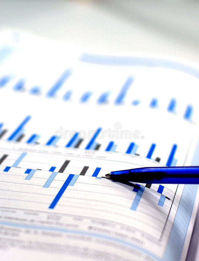 Stock charts. Showing business and financial report concept of financial report stock photos