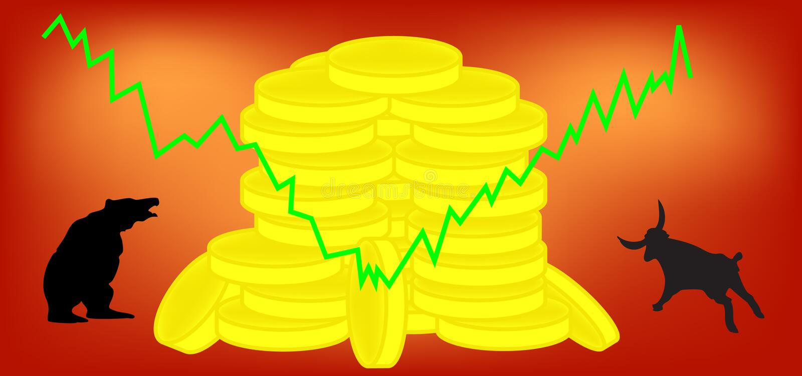 Download Stock exchange stock vector. Image of graphic, economy - 11138065