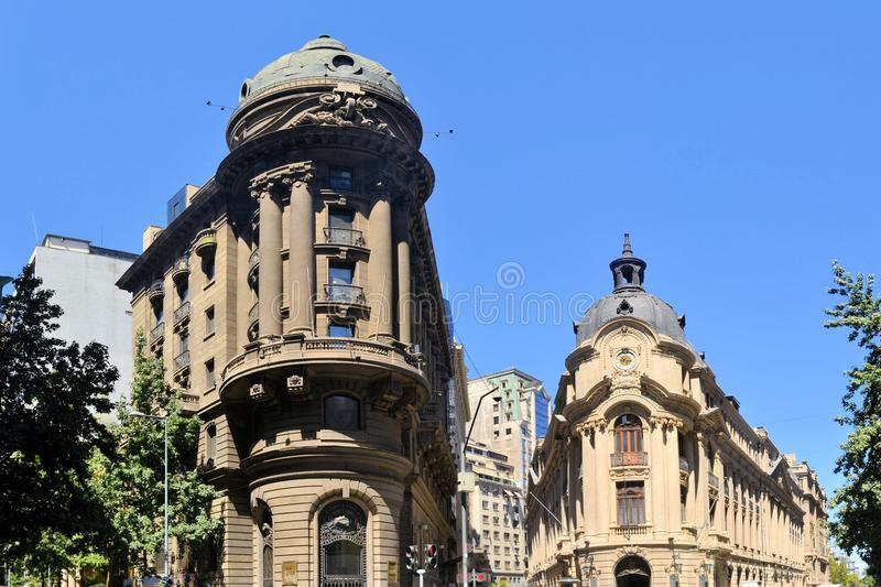 Stock Exchange Building colonial architecture royalty free stock images