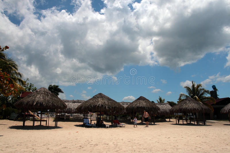 Stock image of beaches at Negril, Jamaica.  stock photography