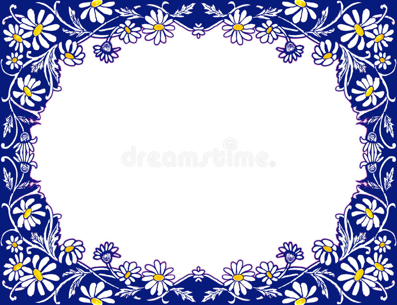 Download Stock Image Of Daisies Frame Stock Illustration - Image: 1850672