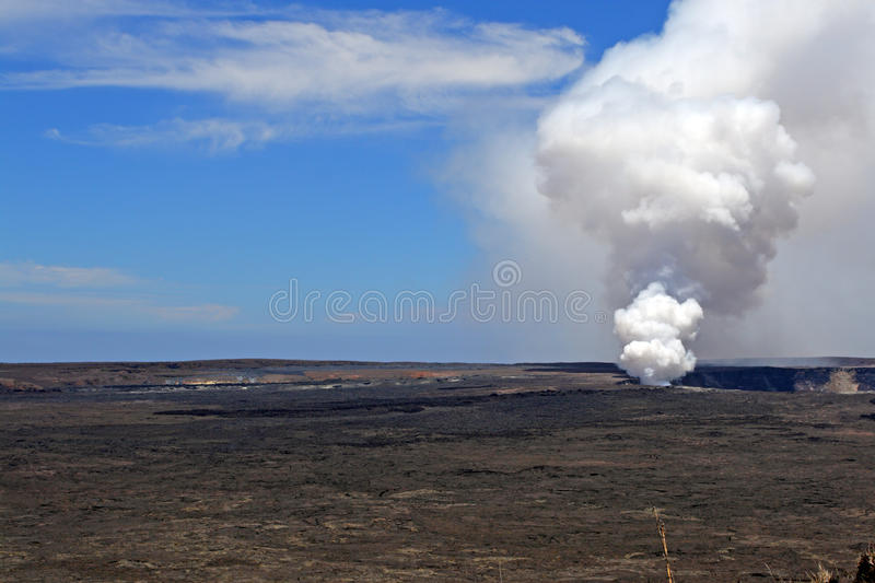 Stock image of Hawaii Volcanoes National Park, USA.  royalty free stock images