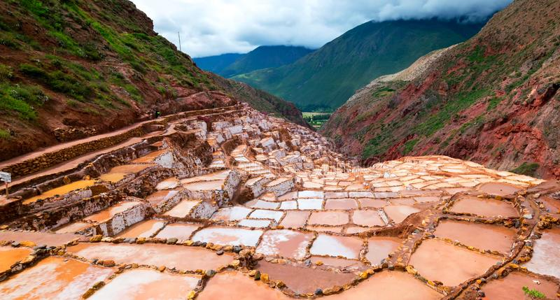 Stock image of the landscape of Peru royalty free stock photo