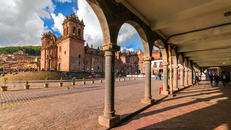 Stock image of the landscape of Peru stock photos