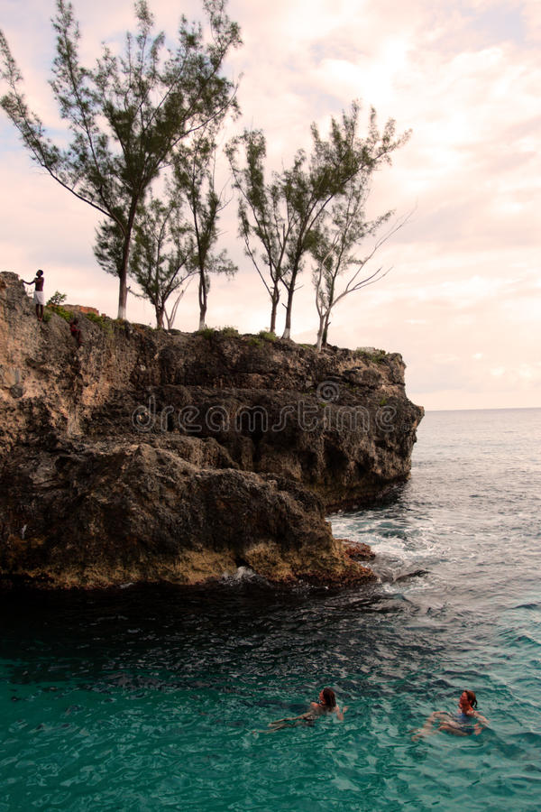 Stock image of Negril, Jamaica stock image
