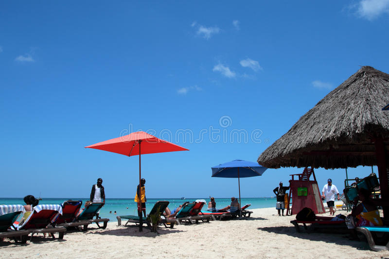 Stock image of Negril, Jamaica stock photo