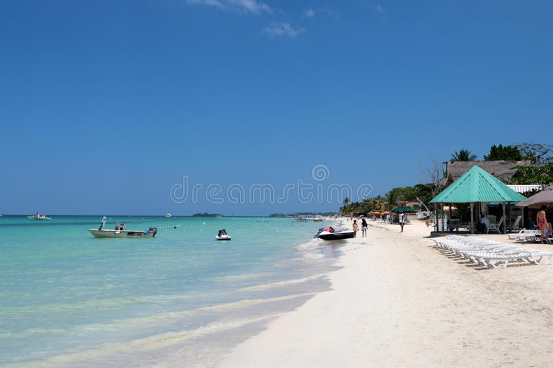 Stock image of Negril, Jamaica royalty free stock photography