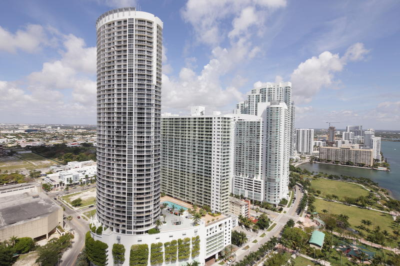 Stock image Opera Tower Miami stock images