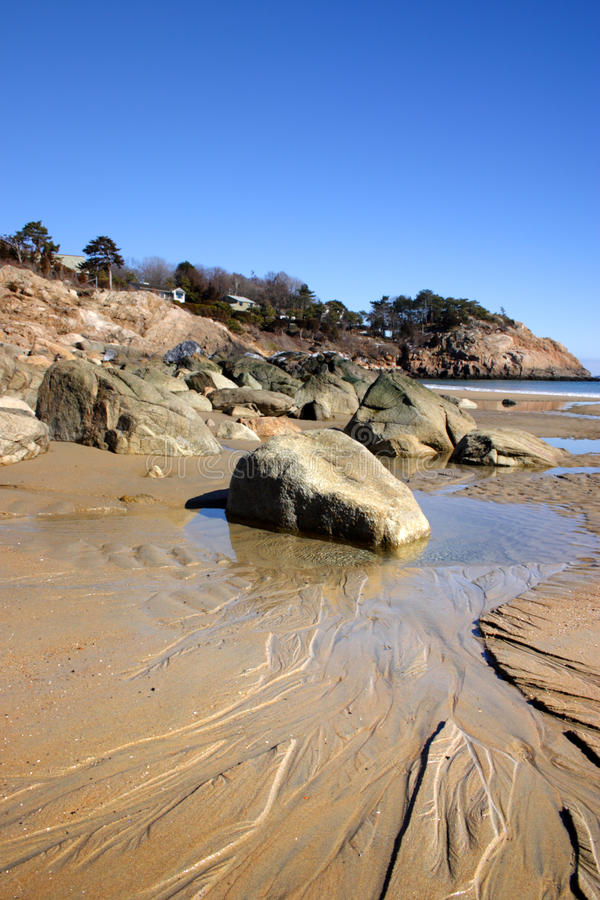 Stock image of Singing Beach, Massachusetts, USA stock image
