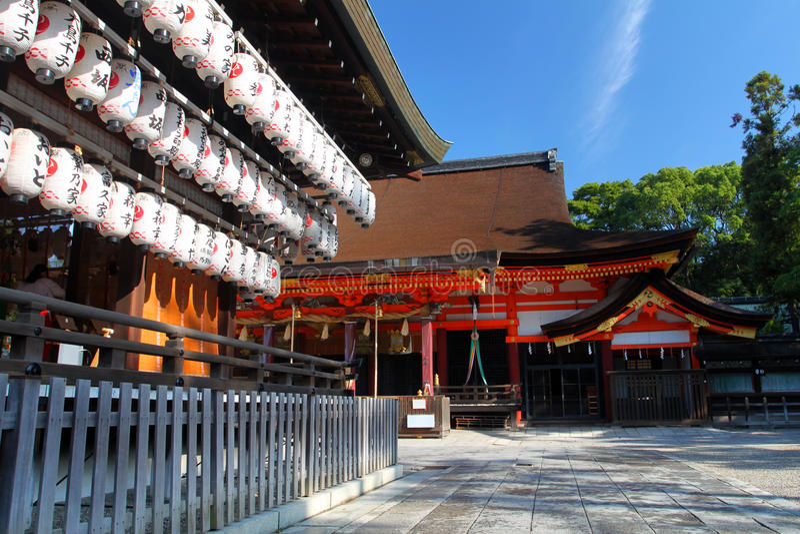 Stock image of Yasaka Shrine, Gion District, Kyoto, Japan stock photos