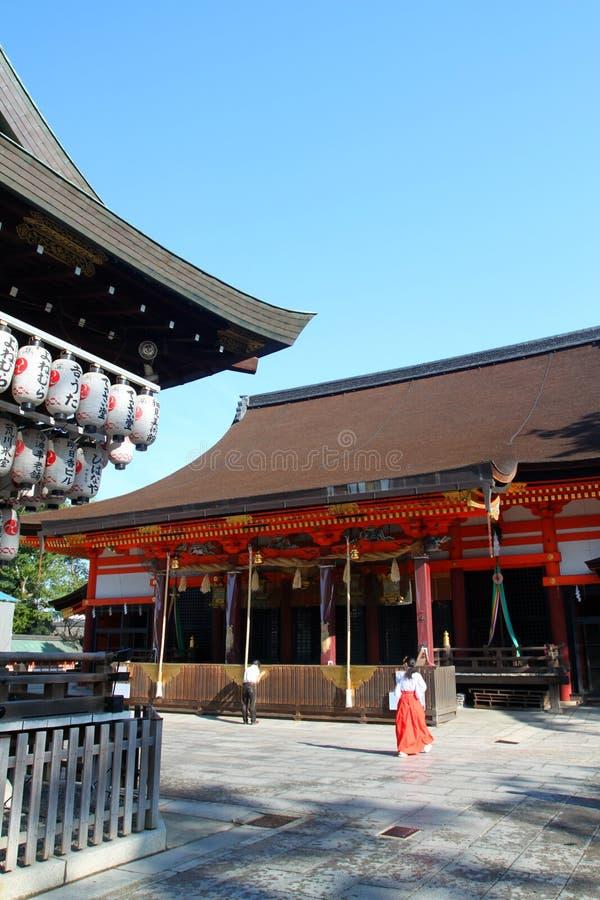 Stock image of Yasaka Shrine, Gion District, Kyoto, Japan stock photography