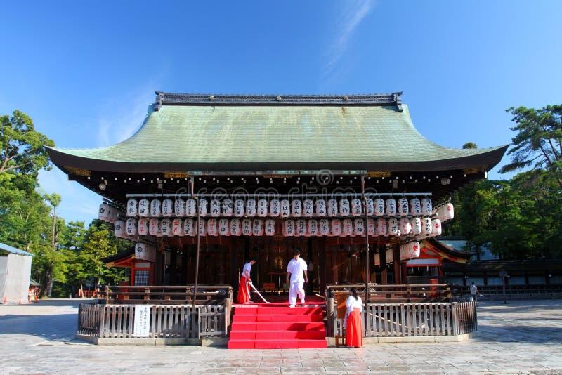 Stock image of Yasaka Shrine, Gion District, Kyoto, Japan stock photo